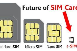 Nhà mạng chạy đua phát triển eSIM