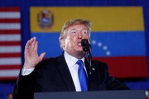 TT Trump kêu gọi quân đội Venezuela ủng hộ phe đối lập
