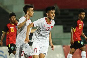 U22 Việt Nam ghi 4 bàn, giành quyền vào bán kết cúp Đông Nam Á