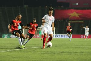 U22 Việt Nam vs U22 Timor Leste (0-0): Tấn công bế tắc
