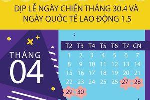 Cách tính tiền lương đi làm dịp Giỗ tổ Hùng Vương, 30.4 và 1.5