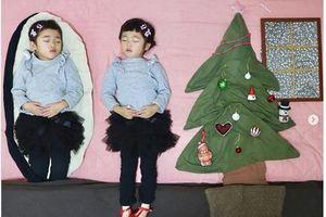 Mẹ Nhật biến giấc ngủ của hai con thành những hình ảnh ngộ nghĩnh