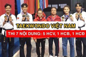 Taekwondo Việt Nam giành 'cơn mưa vàng' tại Pháp