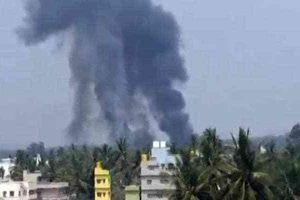 Hai máy bay Ấn Độ đâm nhau giữa trời