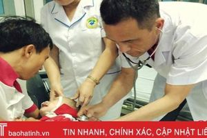 BVĐK Hồng Lĩnh cấp cứu thành công bệnh nhi 2 tuổi bị đuối nước
