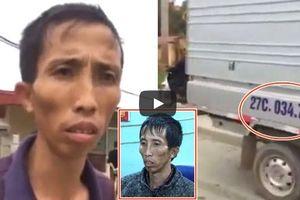 Clip ô tô va chạm xe tải của kẻ chủ mưu cướp, hiếp, giết nữ sinh giao gà