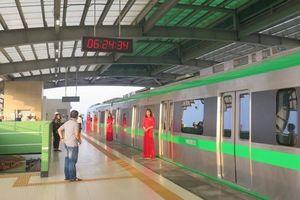 Miễn phí thời gian đầu chạy thử đường sắt Cát Linh - Hà Đông
