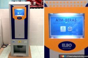 Malaysia có máy ATM nhận tiền nhưng chỉ cho rút ra gạo