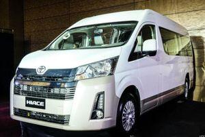 Toyota Hiace thế hệ mới chính thức ra mắt, giá cao nhất gần 1 tỷ đồng
