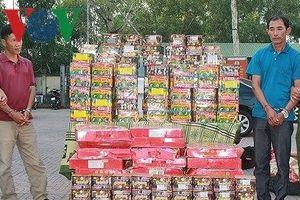 Nghệ An: Thu giữ hơn 7 tấn pháo và hơn 70 kg ma túy các loại