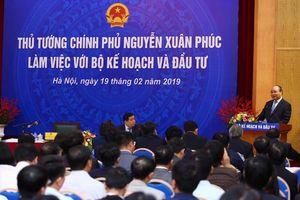 Thủ tướng Chính phủ nêu 5 'bài toán' cho Bộ Kế hoạch và Đầu tư