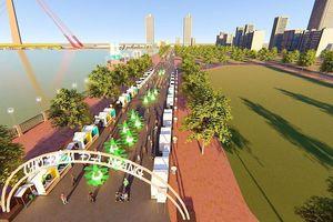 Đà Nẵng sắp có phố đi bộ và chợ đêm trên đường Bạch Đằng