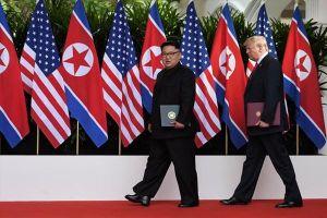 Tổng thống Donald Trump 'không vội' phi hạt nhân hóa Triều Tiên