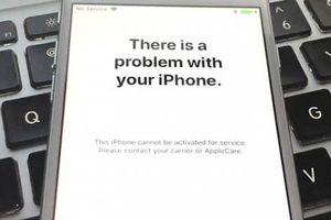 Nhiều iPhone tại Việt Nam bỗng nhiên dở chứng 'Không có dịch vụ'