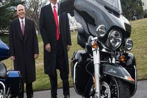 Tổng thống Donald Trump 'đe nẹt' huyền thoại Harley-Davidson