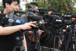 Phóng viên quốc tế mang thiết bị 'khủng' đến Hà Nội đưa tin hội nghị thượng đỉnh Mỹ- Triều