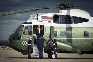 Cận cảnh trực thăng Marine One chuyên chở Tổng thống Mỹ Trump