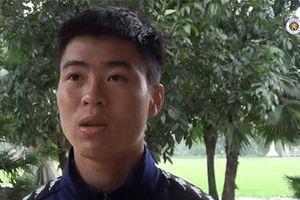Tiết lộ sức khỏe giảm sút sau giải U23 Châu Á, Duy Mạnh khiến fans lo lắng vì phải truyền nước để thi đấu
