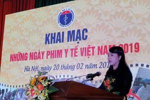 Nhiều hoạt động trong lễ khai mạc những ngày phim y tế Việt Nam 2019