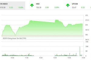 Chứng khoán ngày 20/2: Cổ phiếu lớn giúp VN-Index bảo toàn mốc 970 điểm