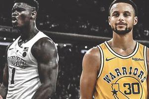 Sau LeBron James, đến lượt Stephen Curry ca ngợi Zion Williamson