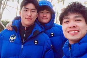 Vừa ghi bàn cho Incheon, Công Phượng liền nhắc đến thầy Park