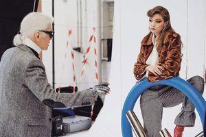 Dàn sao bàng hoàng vì sự ra đi của 'bố già' ngành thời trang quốc tế