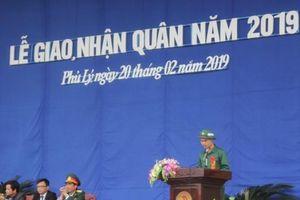 Hà Nam: Bịn rịn trong ngày hội giao quân