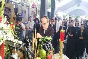 Xúc động lễ tang Phó chủ tịch UBND TP.HCM Nguyễn Thị Thu
