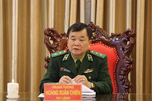 Trung tướng Hoàng Xuân Chiến chủ trì làm việc về xây dựng Dự án Luật Biên phòng Việt Nam