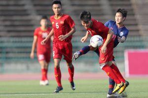 Chia điểm với Thái Lan, U.22 Việt Nam vào bán kết với vị trí nhất bảng