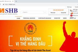 Giả mạo trang web ngân hàng để trộm tiền trong tài khoản