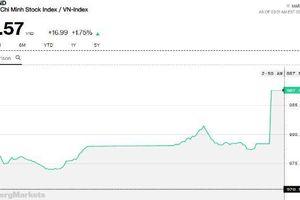 Chứng khoán chiều 21/2: Index vọt lên 987,5 điểm, cổ phiếu nhỏ vẫn ngoài cuộc chơi dòng tiền lớn