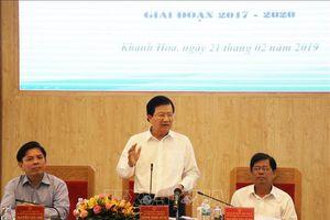 Phó Thủ tướng chỉ đạo sớm giao mặt bằng để triển khai dự án đường bộ cao tốc Bắc - Nam phía Đông