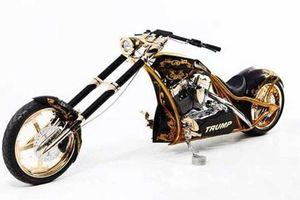 Mê mẩn chiếc chopper 'toàn vàng' của Tổng thống Mỹ