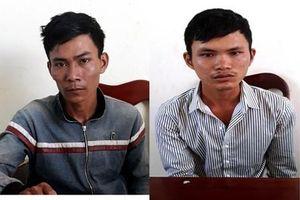 Bắt giữ hai tên trộm xe máy liên huyện