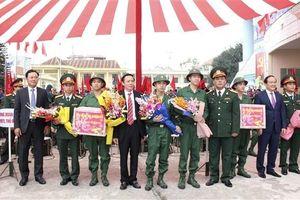 Huyện Gia Lâm: 151 tân binh nhập ngũ năm 2019