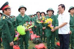 Quảng Trị: Hơn 1.000 tân binh lên đường nhập ngũ