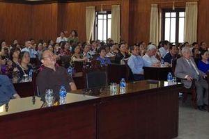 Gặp mặt đoàn cán bộ Công an hưu trí tại Hà Nội
