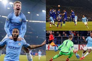 Toàn cảnh Schalke 2-3 Man City: Diễn biến kịch tính như phim hành động