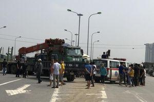 Kiểm tra ma túy tài xế trong vụ tai nạn trên Đại lộ Thăng Long