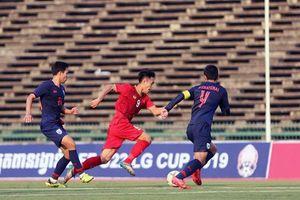 Toàn cảnh U22 Việt Nam 0-0 U22 Thái Lan: Hòa trên thế thắng