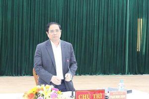 Ông Phạm Minh Chính làm việc với quận ủy Thanh Khê
