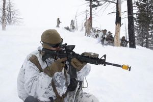 Quân Mỹ tập trận trong tuyết dày, mô phỏng chiến trường Nga, TQ