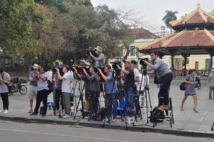 Trên 8 đài truyền hình Hàn Quốc tới Hà Nội đưa tin Hội nghị thượng đỉnh Mỹ - Triều