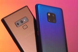 Samsung sắp bị Huawei vượt mặt thành hãng smartphone lớn nhất thế giới