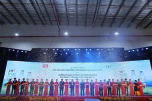 Khánh thành nhà máy mới của TH, khởi động xúc tiến đầu tư vào Nghệ An