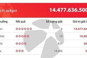 Kết quả xổ số Vietlott 22/2/2019: Có ai may mắn bỏ túi hơn 14 tỷ đồng?