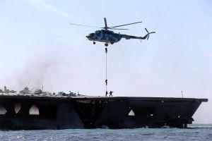 Iran khởi động tập trận trên vùng Vịnh