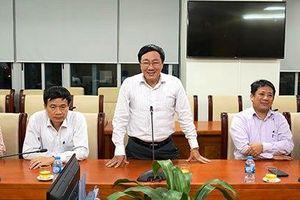 NHCSXH làm việc với Đoàn công tác của Tạp chí Cộng sản và Văn phòng Trung ương Đảng